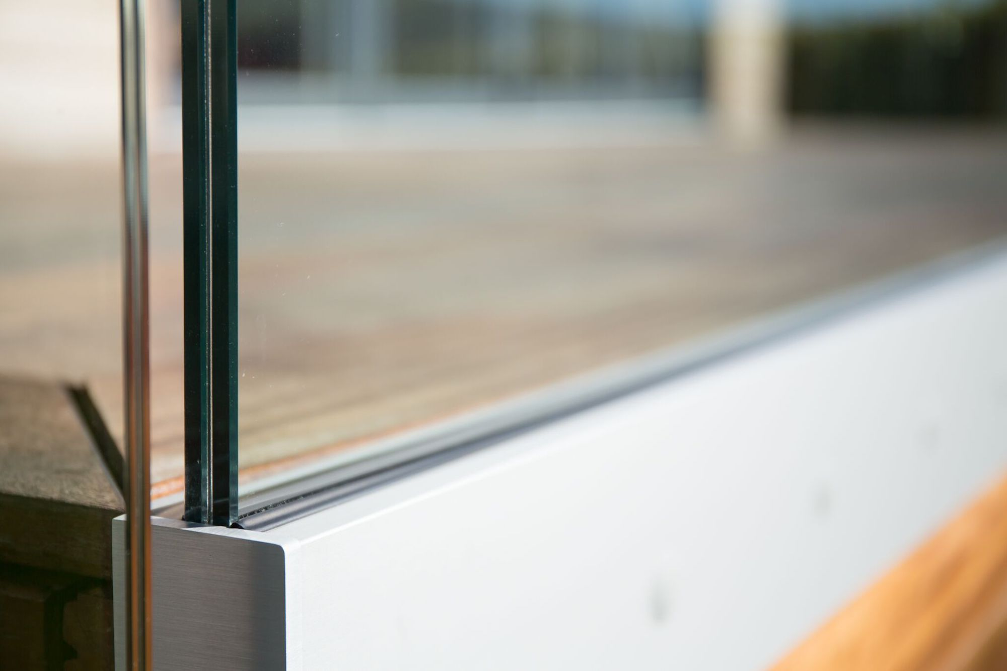 Glass Balustrade Close up